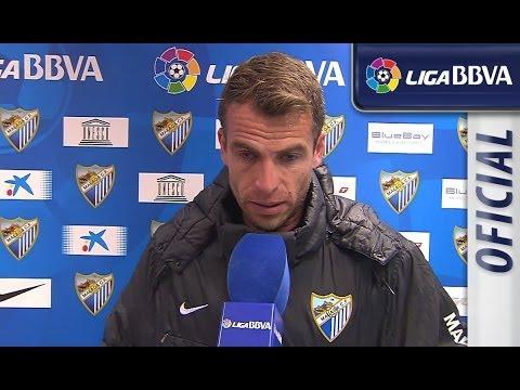 Entrevista a Duda tras el Málaga CF (3-2) Sevilla FC  - HD