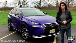 2016 Lexus NX F SPORT Car Review by Lauren Fix, The Car Coach