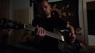 "KILLING JOKE  :  "" Euphoria "" guitar cover & play along"