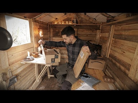 Off Grid Pallet Wood Cabin: Opening Subscriber Gifts & Coffee Vibes