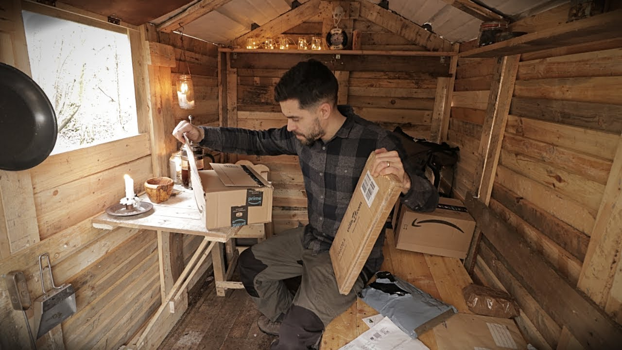 Off Grid Pallet Wood Cabin Opening Subscriber Gifts