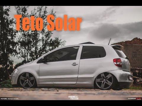Instalando Teto solar no Fox rebaixado - Ficou muuuiiito Top!!!