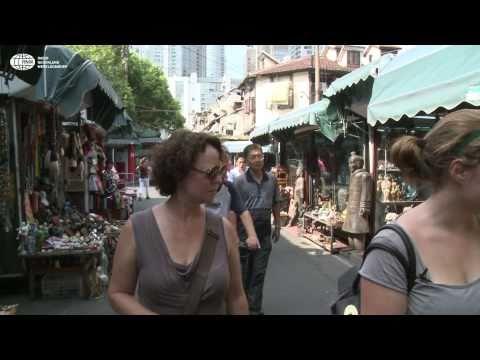 Nederlandse wereldstage in Shanghai