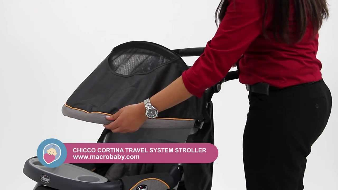 MacroBaby - Chicco Cortina Keyfit Travel System - YouTube
