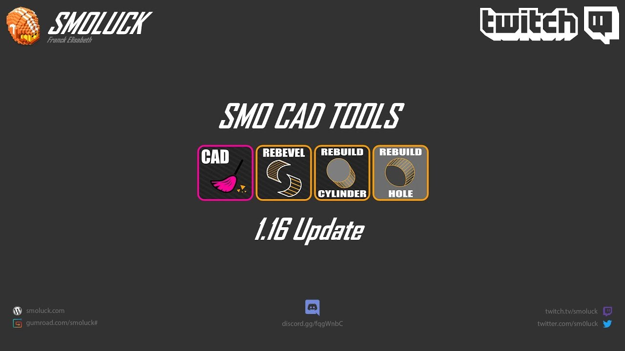 SMO CAD TOOLS Kit (Modo 12 2v3 to 13 2) | Foundry Community