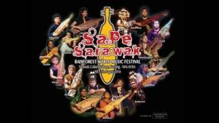 SAPE SARAWAK at the Rainforest World Music Festival 2016