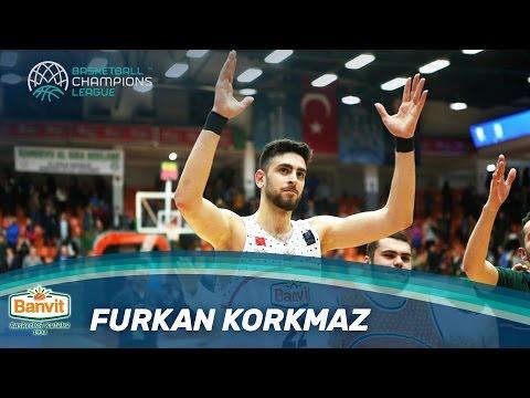Furkan Korkmaz   Best Young Player - Banvit - Basketball Champions League