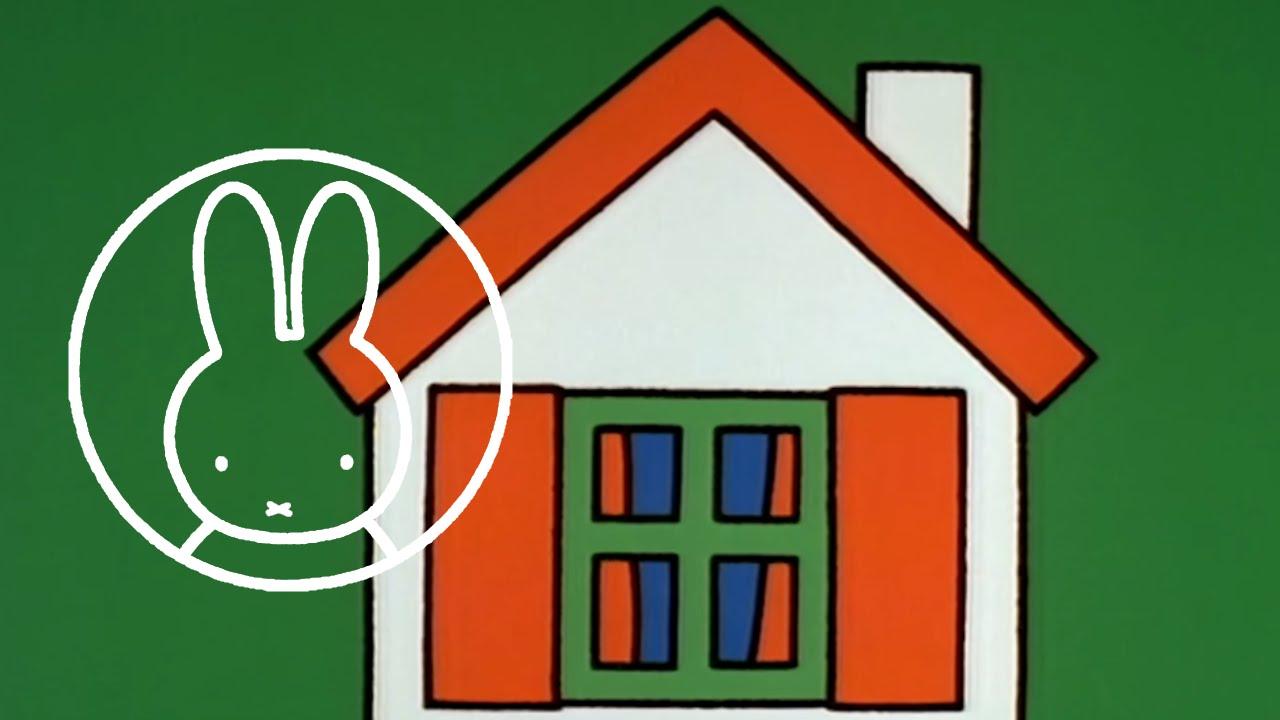 Het huis van nijntje nijntje de originele serie youtube - Ingang van het hedendaagse huis ...