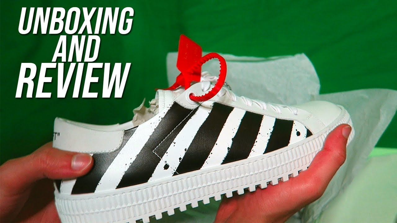 7b179b66d OFF WHITE 3.0 DIAGONAL SNEAKER UNBOXING! (OFF WHITE SNEAKER UNBOXING REVIEW)