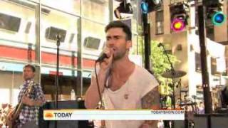 "Maroon 5 ""Sunday Morning"" live on The Today Show 02.07.2010"