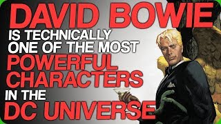 David Bowie is Technically One of the Most Powerful Characters in the DC Universe