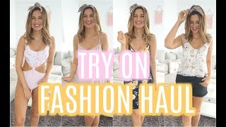 TRY ON FASHION HAUL 😍 - ZARA, A&F, H&M UND ALLSAINTS