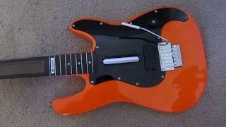 Logitech PS3 Wireless Guitar Hero / Rock Band Guitar - MODIFICATION