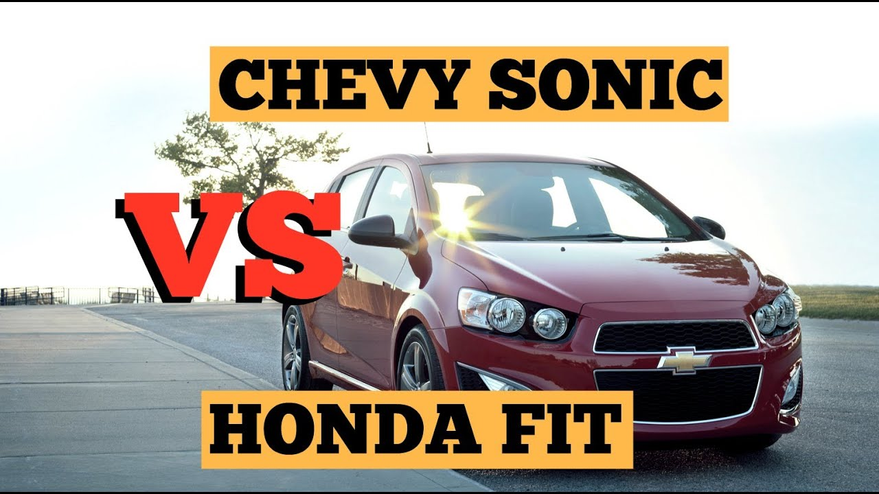 Chevy sonic vs honda fit st louis youtube for Chevy sonic vs honda fit