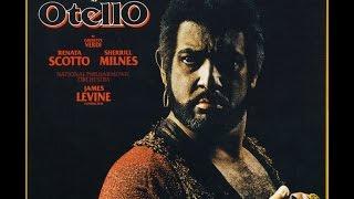 """Giuseppe Verdi """"Otello"""" Domingo, Scotto, Milnes; Levine (1978 CD I)"""
