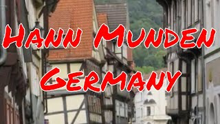 Hann Munden Germany Historical Medieval City featuring over 700 buildings over 600 years old