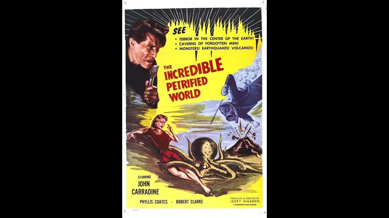 The Incredible Petrified World  Public Domain