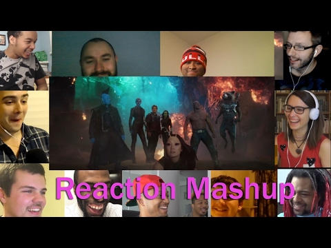 Guardians of the Galaxy Vol. 2 Big Game Spot REACTION MASHUP