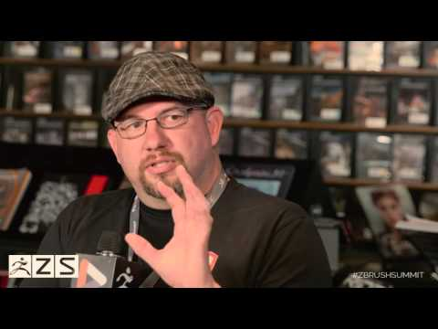 Official ZBrush SUMMIT 2015 Interview - Disney Interactive