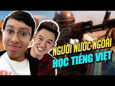 Khi RAMBO dạy người nước Ngoài tiếng Việt