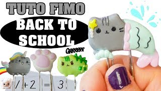 TUTO FIMO - TROMBONE PUSHEEN 📎 ( back to school)