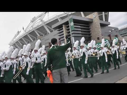 Colorado State Marching Band ~ October 28th, 2017