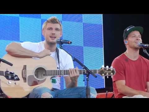 Backstreet Boys - Back to Your Heart - Soundcheck - Tuscaloosa (with Gary Baker) 8/27/13
