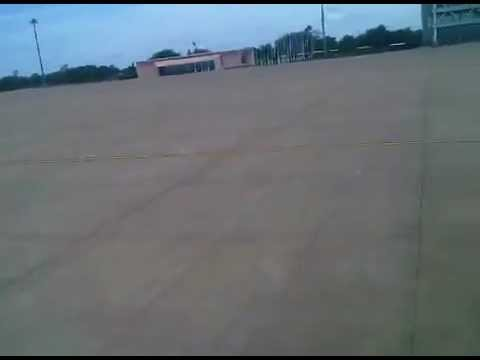 Landing at Sir Seretse Khama Airport, Botswana