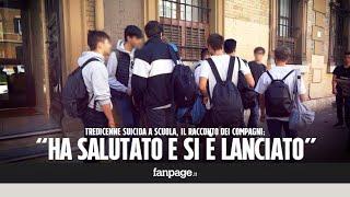 """Roma, tredicenne si suicida a scuola. Il racconto dei compagni: """"Ci ha salutato e si è lanciato"""""""