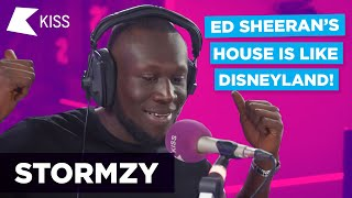 Stormzy on fighting Harry Styles 👀...and Ed Sheeran's MASSIVE House!