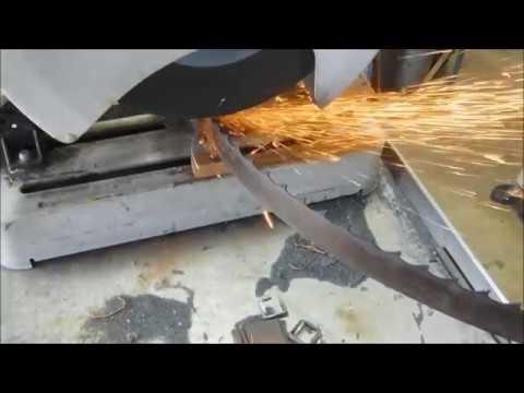 #Sharpening a Woodmizer Homemade Sawmill Blade