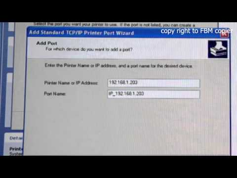 How to install Canon IR Series Printer Driver on Windows XP