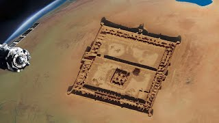 10 Amazing Archaeological Discoveries Made By Satellites!