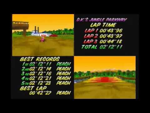 "MK64 - World Record on D.K.'s Jungle Parkway - 2'12""11* (NTSC: 1'49""87) by Daniel Burbank"