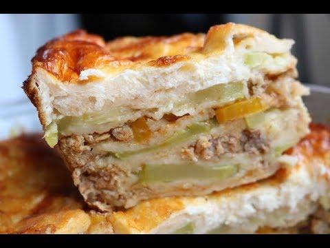 Bakina kuhinja - prelepa musaka sa tikvicama (Zucchini Moussaka very good recipe)
