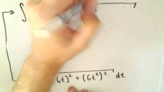 Arc Length Using Parametric Curves