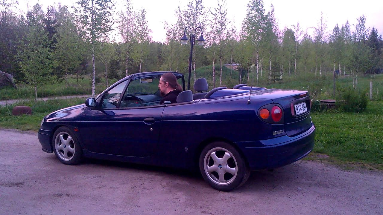 1998 renault megane cabriolet youtube. Black Bedroom Furniture Sets. Home Design Ideas