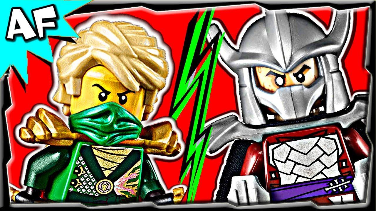 Ninjago Lloyd Vs Shredder Tmnt Lego Crossover Battle 6