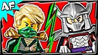 Ninjago LLOYD vs SHREDDER TMNT - Lego Crossover Battle #6
