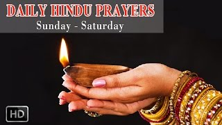 Hindu Daily Morning Prayers - Deities & Rituals Of Seven Days Of Week