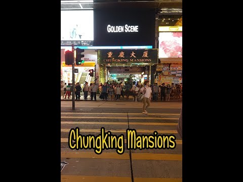 chungking mansion building in hongkong tst (where to buy cheap entrance tickets)