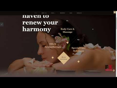 Beauty Salon Responsive Joomla Template TMT Lucius Kenny