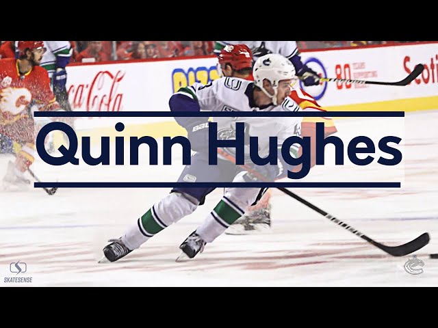 Quinn Hughes #43 🏒is magician 🧙 on ice | The art of skating