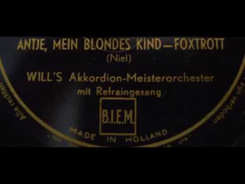 Antje, mein blondes Kind - 1940 - 78 UpM