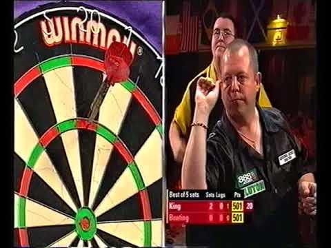 Bunting vs King Darts World Masters 2004 Last 16