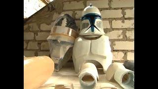Броня клона-солдата своими руками - Clone Trooper Armor by your hands - English Subs