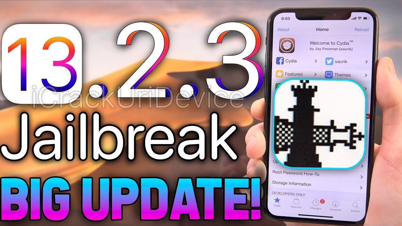 New Jailbreak Ios 13 Ios 13 2 3 Huge Update Windows Linux News Youtube