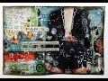 """Mixed Media Collage """"ANGEL"""" Video Tutorial"""