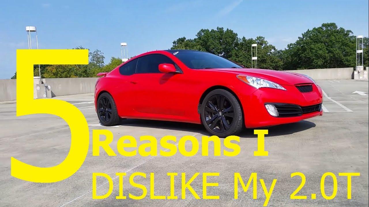 5 Reasons I Hate My Hyundai Genesis Coupe 2 0t