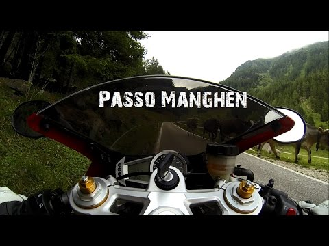 RAW onboard: Passo Manghen Italy | Triumph Daytona  | Engine sound only
